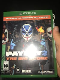Xbox One Payday 2 game case Waterbury, 06710