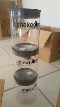 Plastic protein powder containers Hialeah, 33014