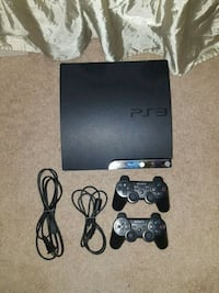 Ps3 includes 2 controllers and every cable needed Falls Church, 22043