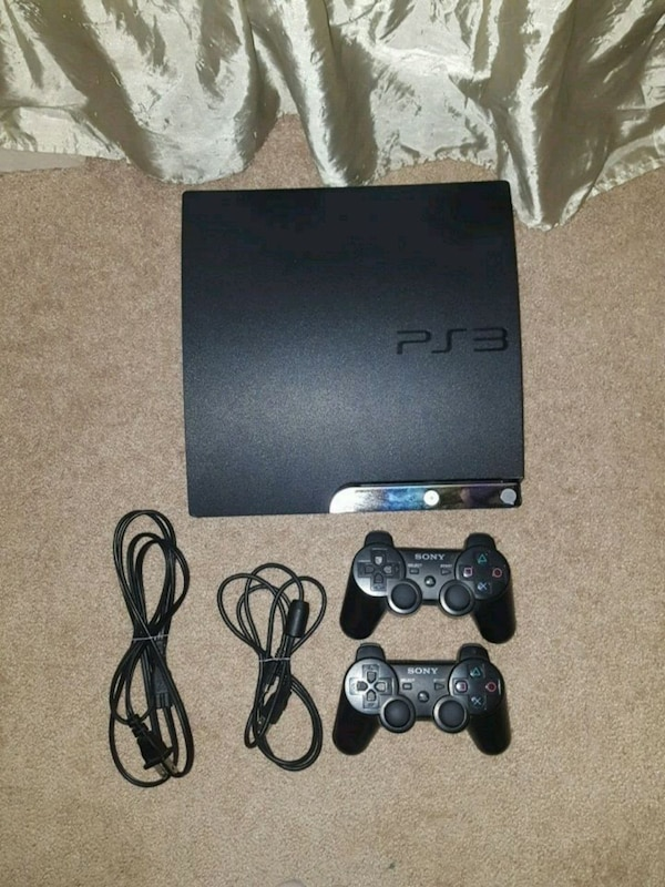 Ps3 includes 2 controllers and every cable needed