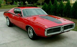 1971 Dodge Charger Side Glass