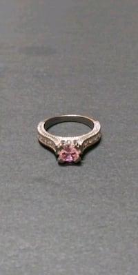 silver and purple gemstone ring Henderson, 89002