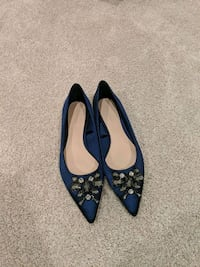 Brand new jewelled flats from Zara (size 6) Sunnyvale, 94085