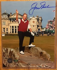 JACK NICKLAUS Last British Open Autographed 8x10 Golf Photo Golden Bear Signed Toronto
