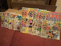 assorted  archie comic books neg Montreal, H2S 3G6
