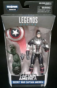 Marvel Legends Captain America Action Figure Port Coquitlam, V3B 7G7