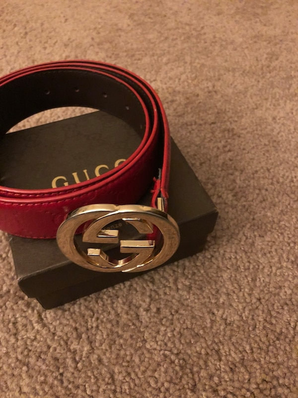 5b098636916 Used Red Gucci belt for sale in North Charleston - letgo
