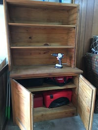 Wooden Cabinet armoire solid