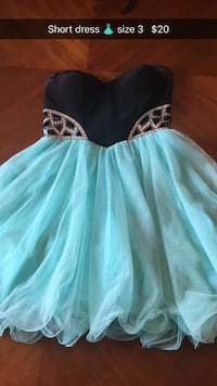 Short dress size 3 Sterling Heights, 48312