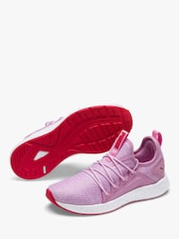Puma ngry neko knit trainers sneakers pink red white Gaithersburg, 20879