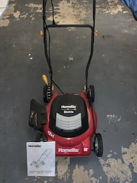 Homelite Electronic Lawn Mower. Gentle used. Excellent Condition . Burke, 22015