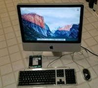 silver iMac and Apple Magic Keyboard Fairfax, 22031