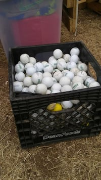 golf balls in black plastic case Oklahoma City, 73129