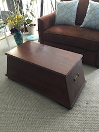 Wooden Coffee Table Chest Calgary, T3H 3N9