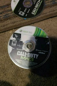 Xbox 360 Call of Duty MW3 disc 3153 km