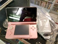 pink Nintendo 3DS with charger, missing the stylus Tampa, 33637