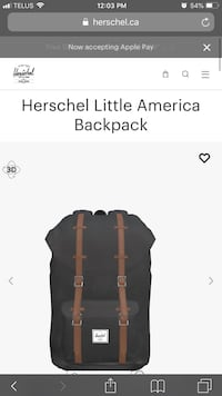 Herschel Backpack!!!