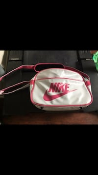 white and pink Nike backpack Peterborough, K9H 3Z7