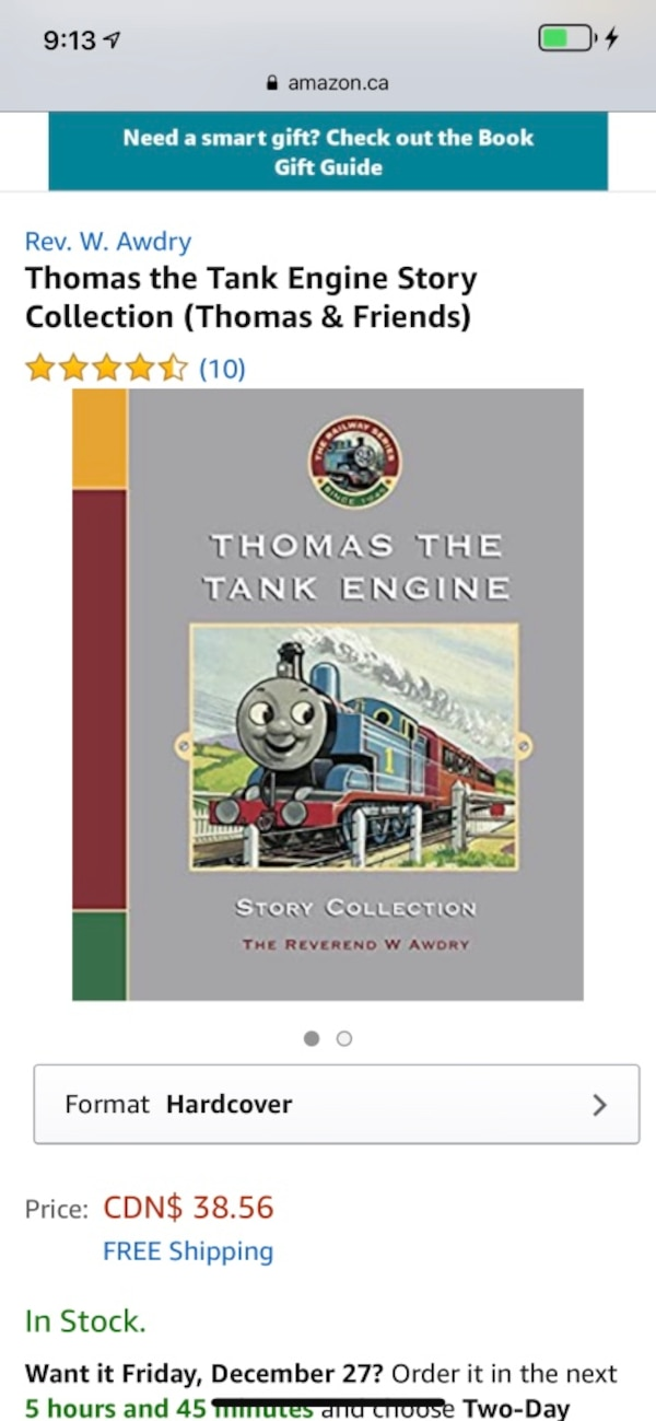 NEW $40 Rev. W. Awdry Thomas the Tank Engine Story Collection a267a911-5d3d-4012-9831-b90ee1587144