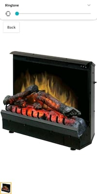 Dimplex DF12310 Electric Fireplace Deluxe 23 inch  Henderson, 89014