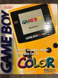 Game Boy Color with 2 Games