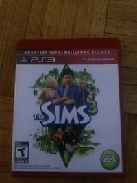 The Sims 3 PS3 game case Toronto, M6M 2M7