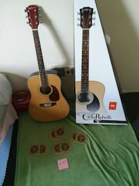 two brown and black acoustic guitars San Diego, 92105