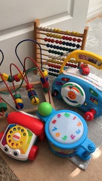 baby's assorted learning toys