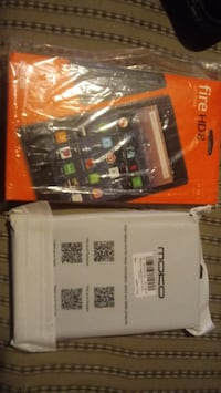FIRE HD TABLET AND CASE