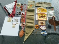 40 vintage  Boy Scouts of America items Taylor, 48180