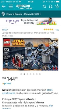 Lego Star Wars toy set Marysville, 95901