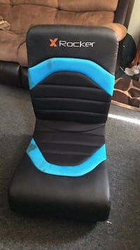 black and blue gaming chair Fall River, 02723
