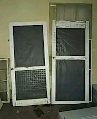 two white wooden frame screen door Greensboro, 27405