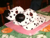 BRAND NEW NEVER USED DALMATIAN DOG SLIPPERS Voorhees Township, NJ 08043, USA