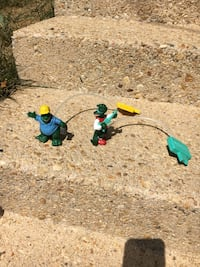 Set of two 1990s Dinosaurs TV show toys Annandale, 22003
