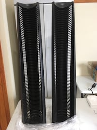 """CD """"jewel disk"""" towers (set of 2)"""