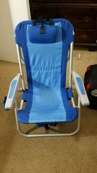 2 Almost new beach chairs