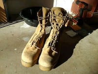 pair of brown leather work boots Orlando, 32807
