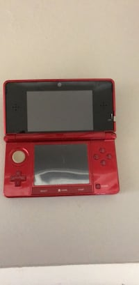 red Nintendo DS with case Reno, 89523