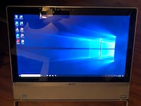 Acer touch screen all-in-1 (i5, 2TB HDD, 12gb Ram) Toronto, M6M 1T2