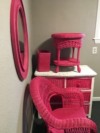 Kids furniture  wicker