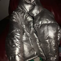 H&M silver bubble jacket reconditioned size 10 Washington, 20019