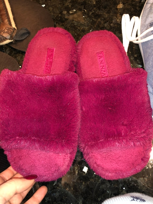 pink suede fur-lined snow boots