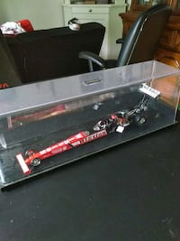 red and black Winston race car scale model Woodbridge, 22191