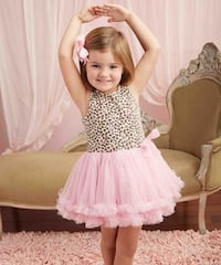 Mudpie Girls Leopard Tutu Dress size 2T Mississauga, L4Y 3S1