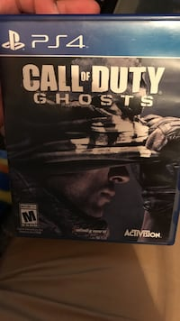 Call of Duty Ghosts PS4 game. Very taken care of.