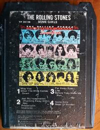 Rolling Stones Some Girls 8 Track Tape Inwood