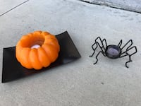 Halloween Candle and Spider Holder Corona, 92880