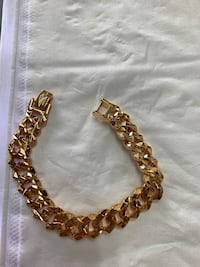 Brand new bracelet gold plated passion ,$30 each Calgary, T2B 3G1