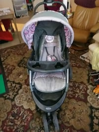 baby's gray and pink jogging stroller Tucson, 85716